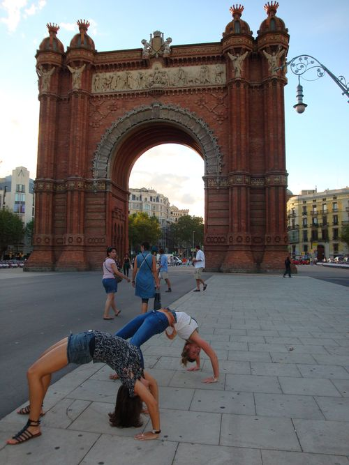 Bending over backwards for barcelona