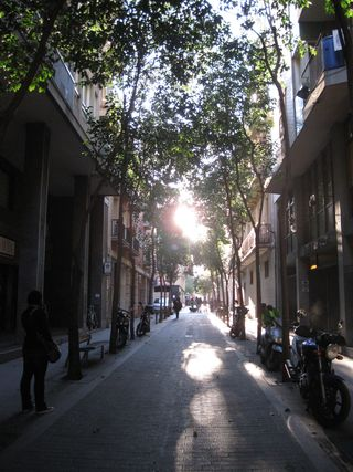 Walking through gracia