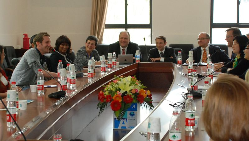 US DoE Delegation to ECNU