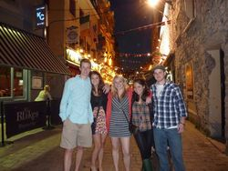 Picture 12 Galway students