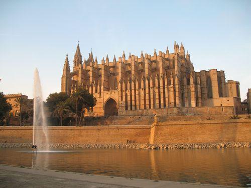 Catedral al atardecer