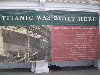 Titanic designed