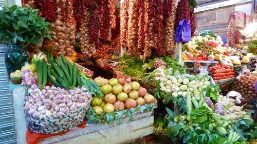 Marqueta verduras