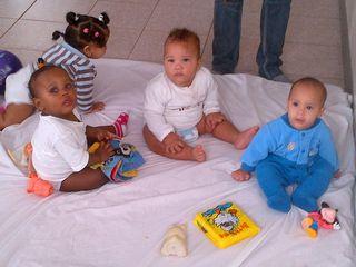 babies at Camboya's guarderia