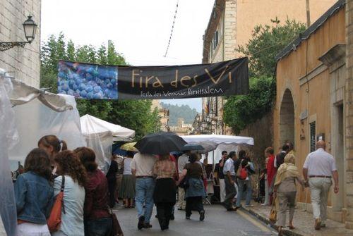 Feria vino binissalem