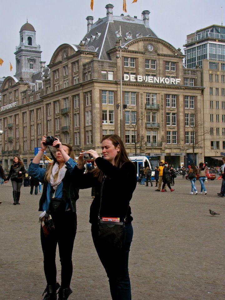 Chicas en Amsterdam