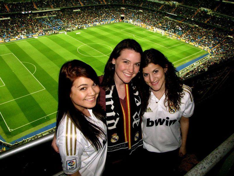 Chicas en Bernabéu