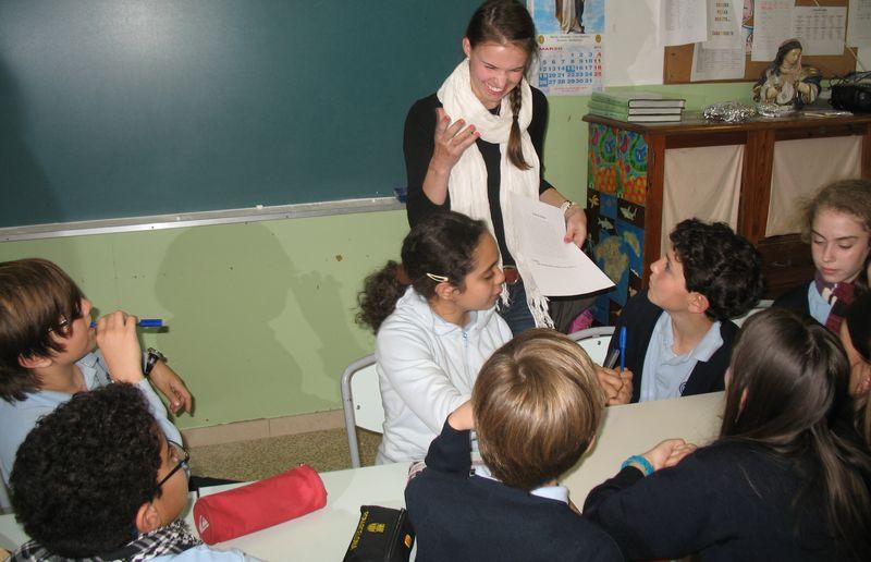 Activity in a school in palma 2