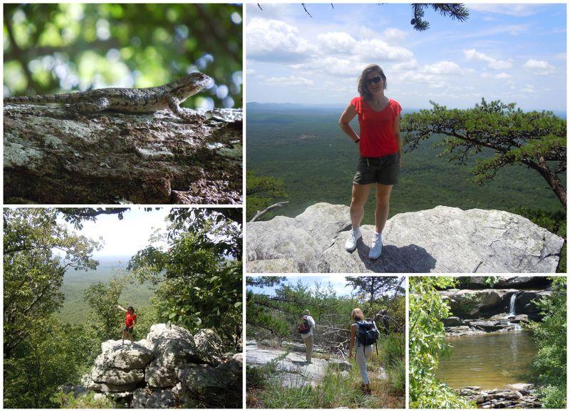 Hiking the mt