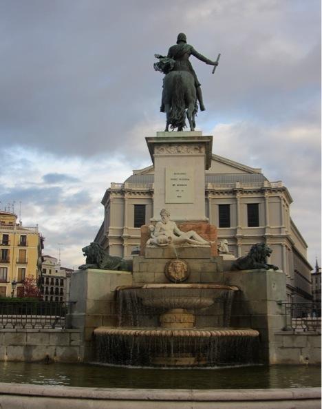 Plaza oriente