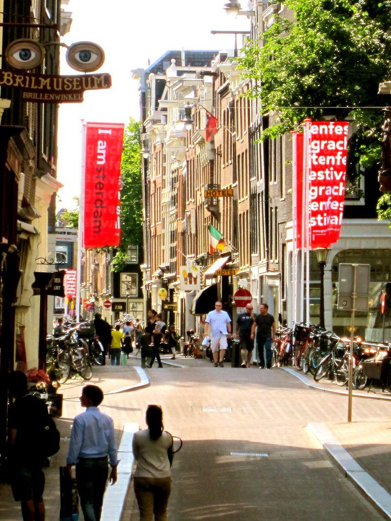 Olivia in Amsterdam