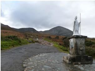 St Pat croagh
