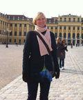 Caroline at Schloss Schoenbrunn