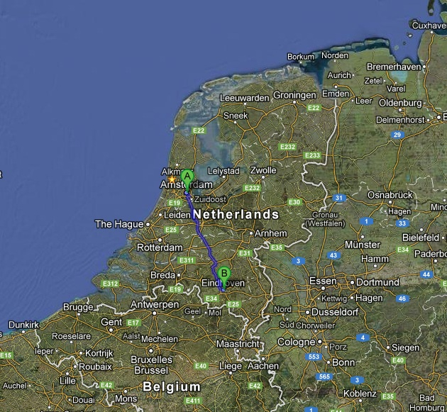 Amsterdam eindhoven