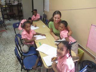 Jody teaching class