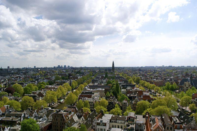 Posthoornkerk uitzicht
