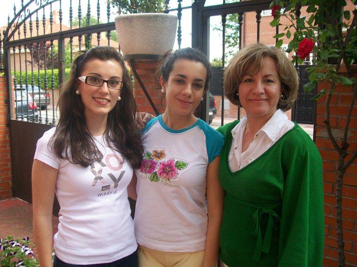 MªSol Pastor e hijas