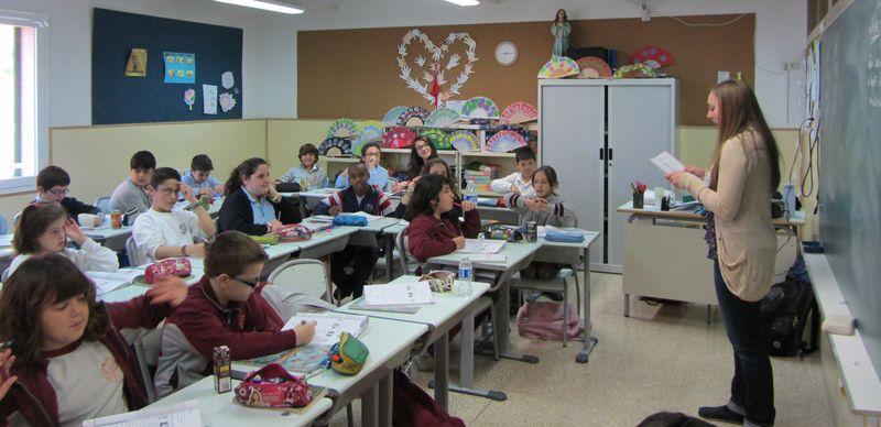 Alison teaching 2