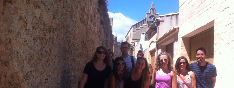 Within the medieval walls alcudia