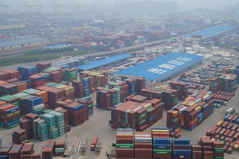 CIEE Beijing - Excursion to Dalian - Shipping Containers