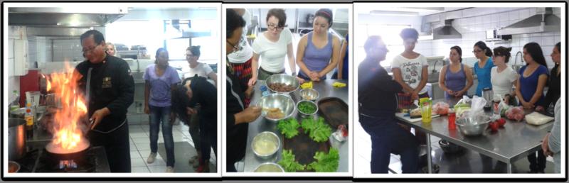 CIEE Lima Peruvian Cooking Workshop