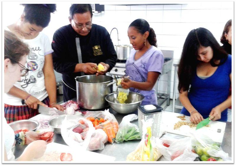 CIEE Lima Peruvian Cuisine Workshop