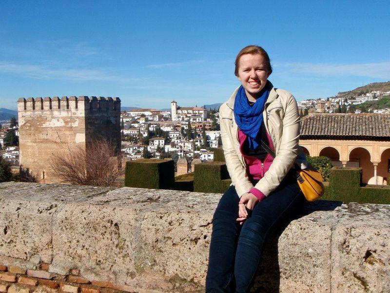 Amanda en la Alhambra 2