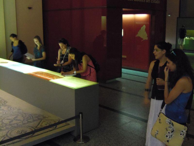 Museo Arquelogico III con profesora