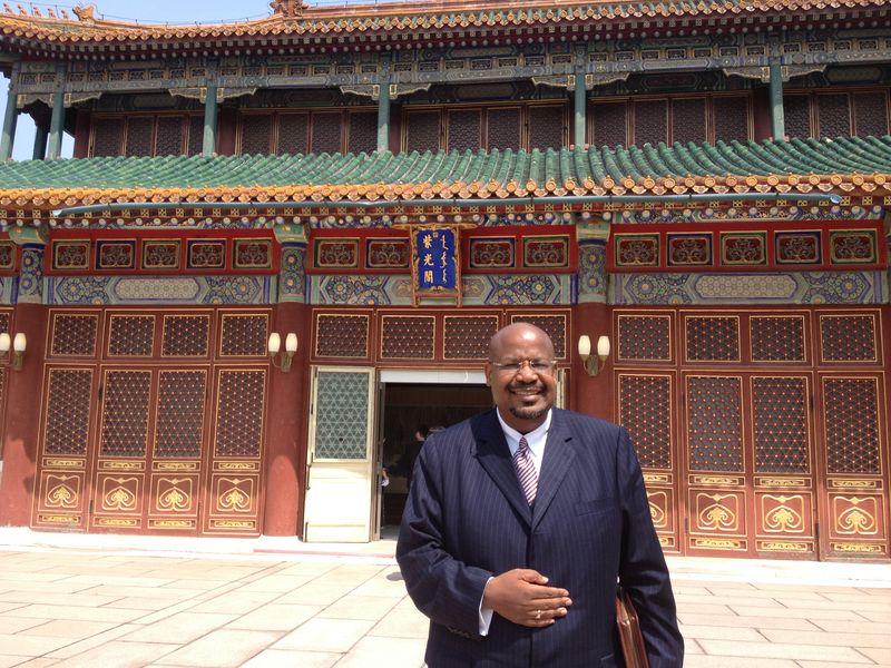 Professor Ken Nealy in Beijing