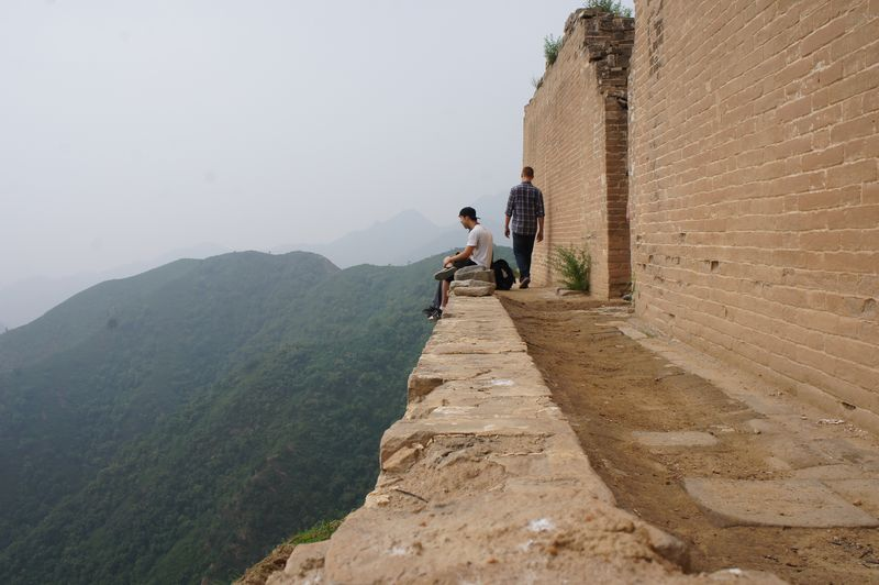 CIEE Beijing - Excursion to Countryside - Reflections on a mountaintop Temple