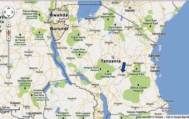 Study Abroad In Tanzania Blog Iringa Community Development - Where is tanzania located