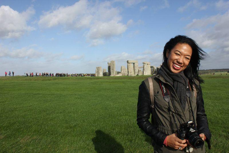 Lea at Stonehenge