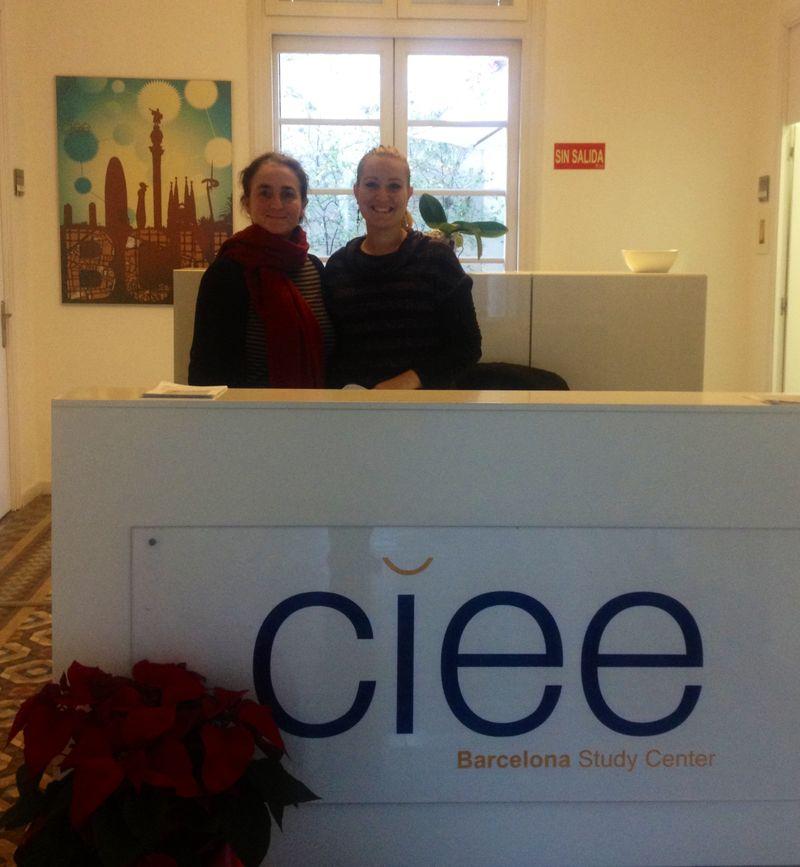 CIEE Barcelona Reception