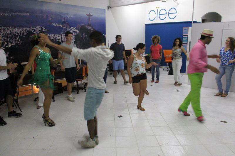 Samba Lesson