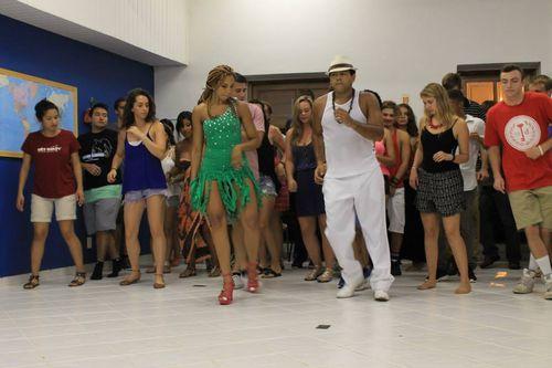 Samba Lesson at CIEE Study Center