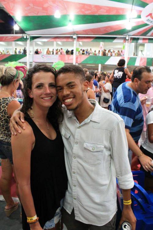 Tina and Davis at Mangueira