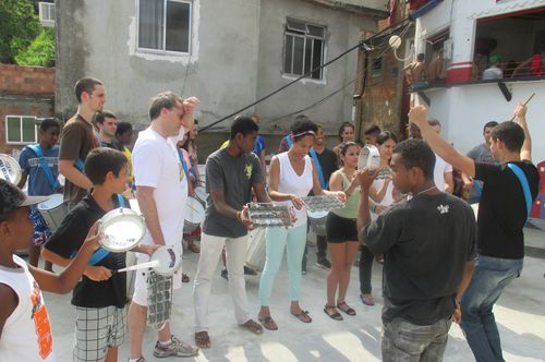 Percussion Lesson  in Santa Marta 1