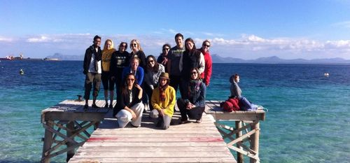 Group in alcudia