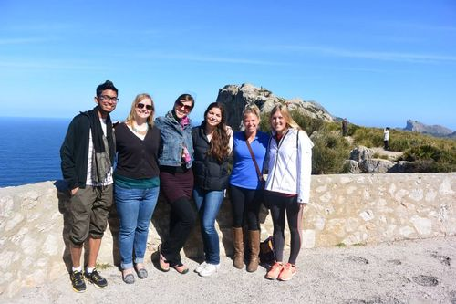 Part of the group in formentor