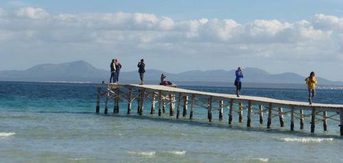 Muro and alcudia beaches