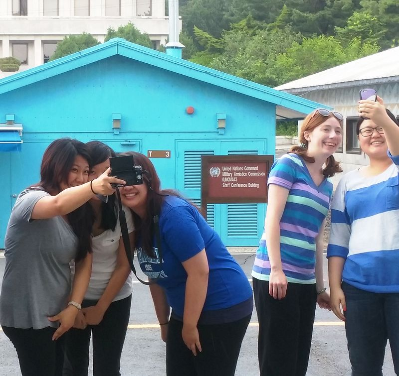Selfies at the DMZ 2