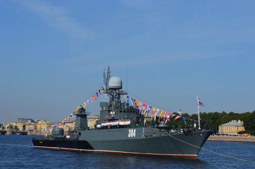17. Navy Day ship
