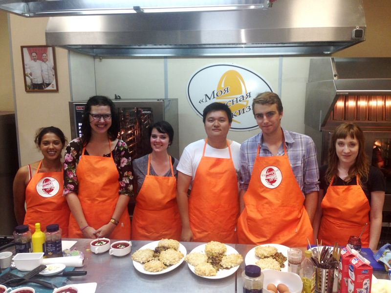 18. Cooking class