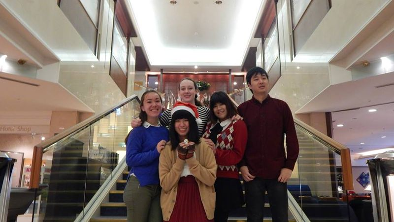 Kyoto family christmas portrait