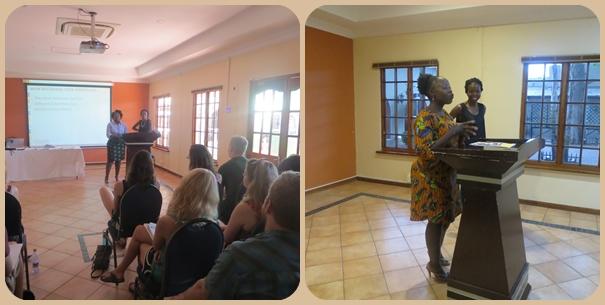 Basetsana and Tanya presentations