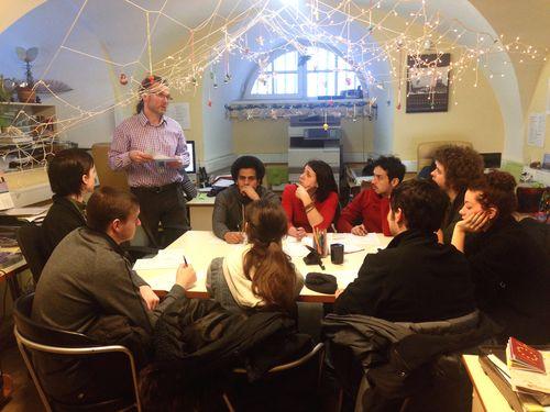9. Hermitage volunteering meeting