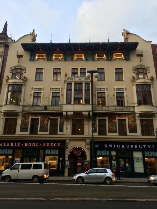 Praha narodni trida
