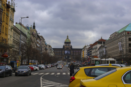 Wenceslas Square or Vaclavske Namesti