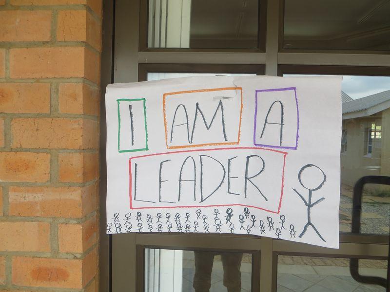 I am a leader_poster