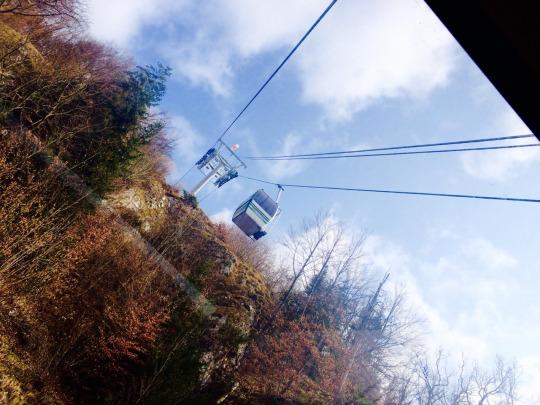 Cable car CNMJ trip